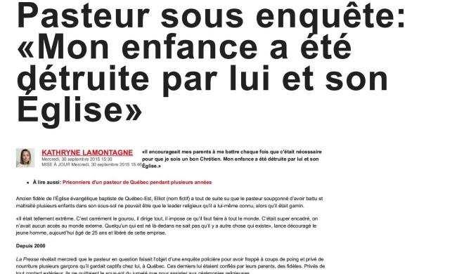 Pasteur sous enquête_ «Mon enfance a été détruite par lui et son Église» _ JDQ1