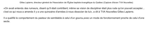 Un pasteur aurait enfermé et maltraité des jeunes _ TVA Nouvelles3